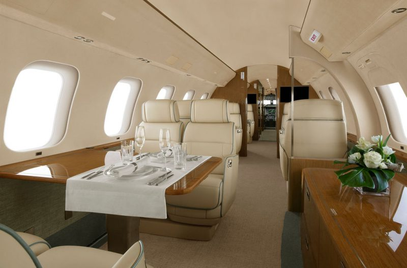 Global 7500 Dining
